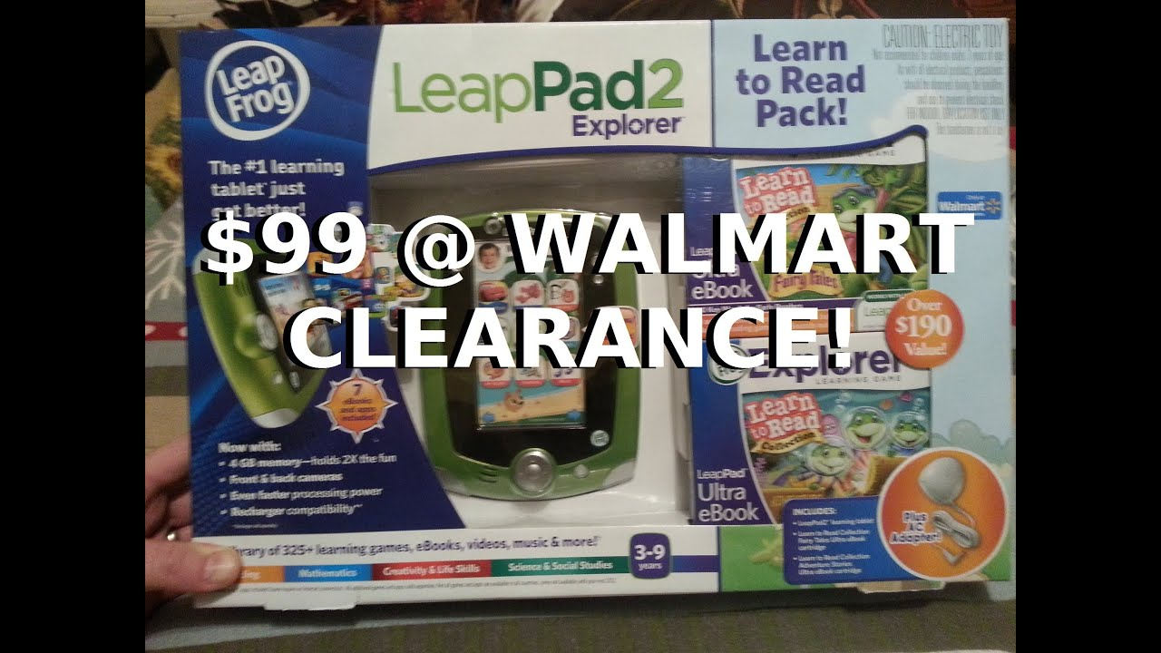Leappad 2 Christmas Combo $99 On Clearance at Walmart!