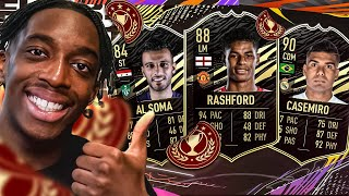 DOING THE 86 + CHAMPS UPGRAGE! PROOF THAT I CAN PREDICT MY FUT CHAMPS REWARDS!