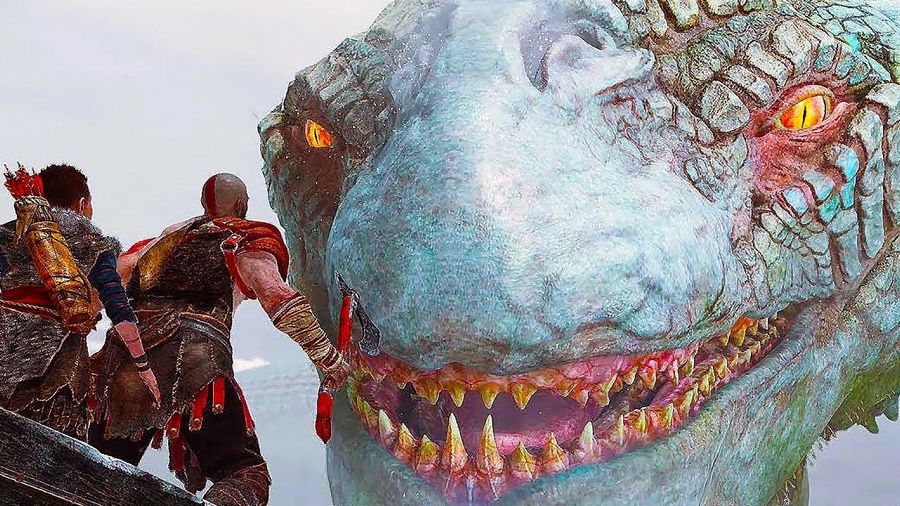 God Of War Gameplay GOD OF WAR 4 - Kratos ...