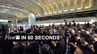 Stock markets rally, jumbo jet production halved | FirstFT