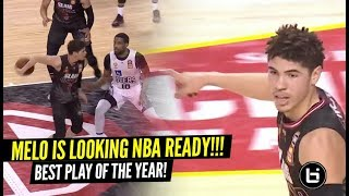 LaMelo Ball SAUCES UP Defender BAD For His BEST PLAY of the year!! Melo Looking NBA Ready!