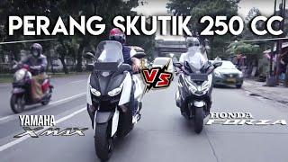 Honda Forza vs Yamaha Xmax : Mana Yang Terbaik?