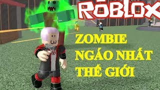 Roblox | This Zombie he's stupid too brother | Zombie Attack | MinhMaMa