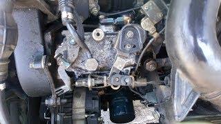 réparer une fuite de pompe injection