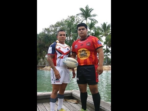 GYG Latin Heat Rugby League v Philippines Tamaraws- Test Match - Part 1