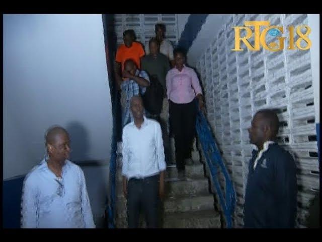 Prezidan Jovenel Moïse vizite komisarya Petyonvil nan bonè maten