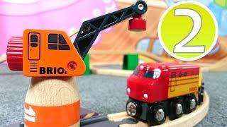 Развивающее видео для малышей. Цифры 2. Игрушечные поезда.(Развивающее видео для детей 1 года. Учим цифры! А поможет нам в этом весёлая игра с паровозиками, поездами,..., 2015-01-14T08:35:53.000Z)