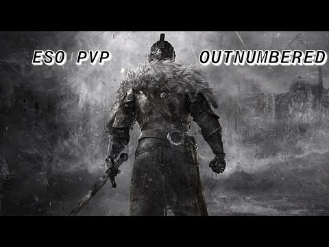ESO – Magicka Dragonknight Outnumbered PvP Elsweyr -Happy Fourth Brothers an Sisters in Arms an USA!