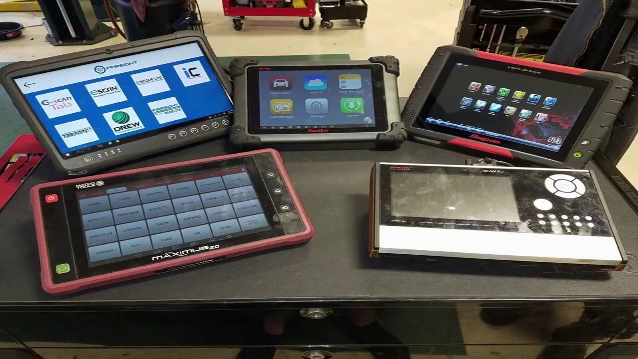 Whats the best scan tool? Snap-On vs Autel vs Launch vs Farsight!