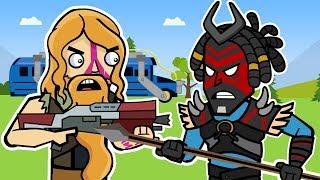 The Squad: Fortnite Animation 4 (Compilation) | ArcadeCloud
