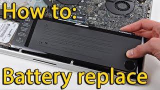 Asus X555 Series battery replacement, замена батареи ноутбука