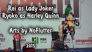 Lady Joker and Harley Quinn cosplay 2015 © R&R