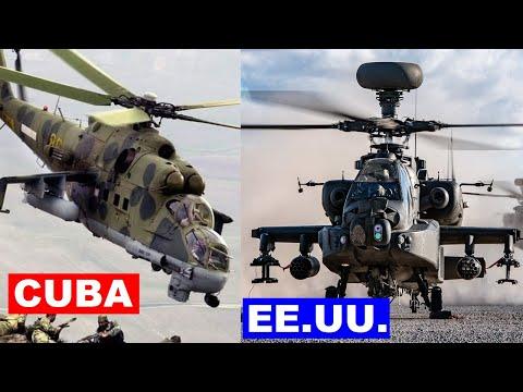 Cuba vs Estados Unidos en Poder Militar
