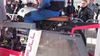 BMW K100 Cafe racer dyno exhaust sound