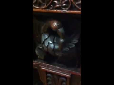 Antique Furniture, Sideboard, Ornate Carvings!  1800s