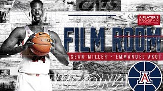 A Player's Program Film Room - Coach Miller with Emmanuel Akot