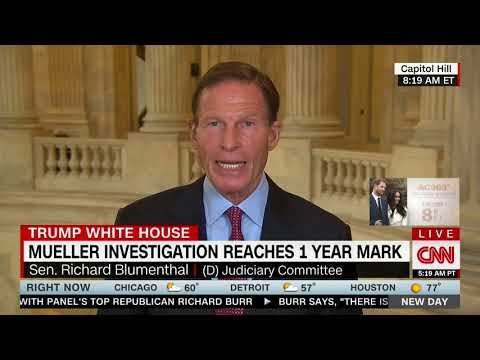 RICHARD BLUMENTHAL FULL INTERVIEW WITH ALISYN CAMEROTA - NEW DAY (5/17/2018)