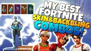 MY BEST FORTNITE SKINS & BACKBLING COMBOS!