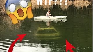 connectYoutube - We found a CAR in a pond!! (Underwater Footage)