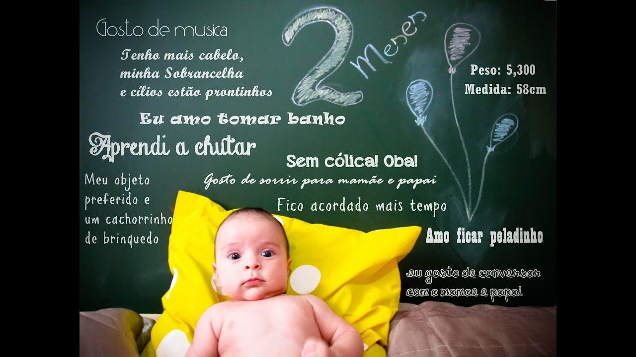 Diario do bebe 2 meses youtube - Tos bebe 2 meses ...