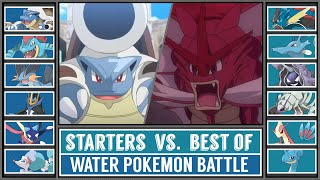 WATER STARTER vs. BEST OF WATER POKÉMON (Pokémon Sun/Moon)