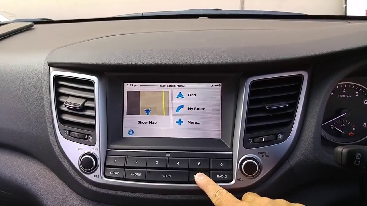 2016 Hyundai Tucson Navigation Integration System Youtube