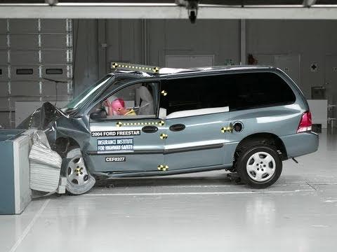 2004 ford freestar moderate overlap iihs crash test youtube 2004 ford freestar moderate overlap iihs crash test