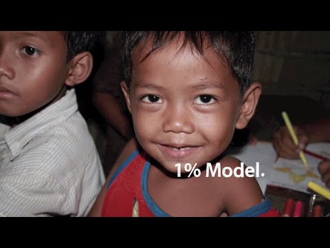 1% to change the world