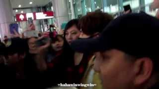 [Fancam]150411 INFINITE(Sunggyu) ICN-MFM part 2@ Macau International Aiport