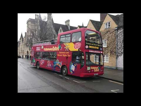 Buses Coaches In Oxford 26th January 2019