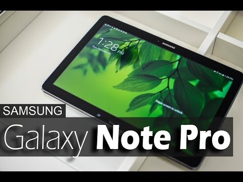 Samsung Galaxy Note Pro 12.2 - REVIEW
