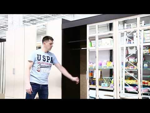 Шкаф-купе - Андрей 1- венге-дуб белфорд - Сундук мебель