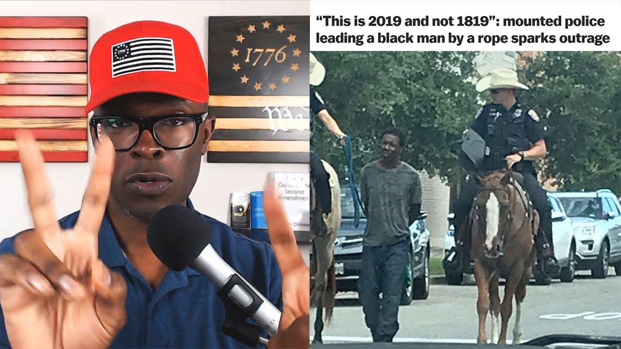 ABL Black Man Arrested By Horse Mounted Police Drives Internet NUTS!