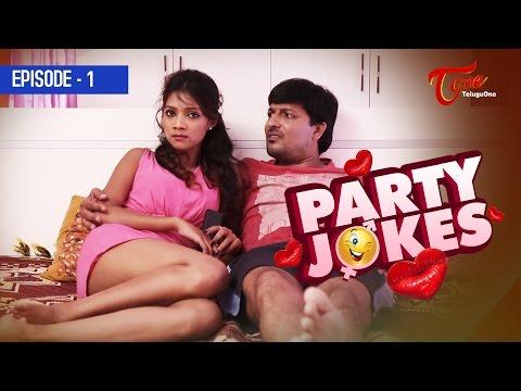 PARTY JOKES || Episode 01 || Sweet Comedy Web Series || #TeluguWebSeries