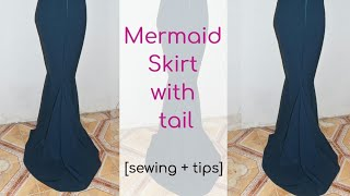 MERMAID SKIRT WITH TAIL [SEWING +TIPS]