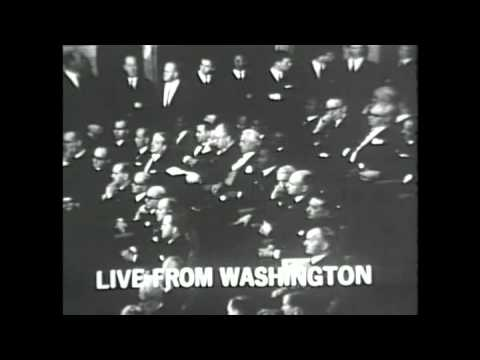 President Lyndon Baines Johnson 1966 State of the Union Address, 1/12/66. MP562.