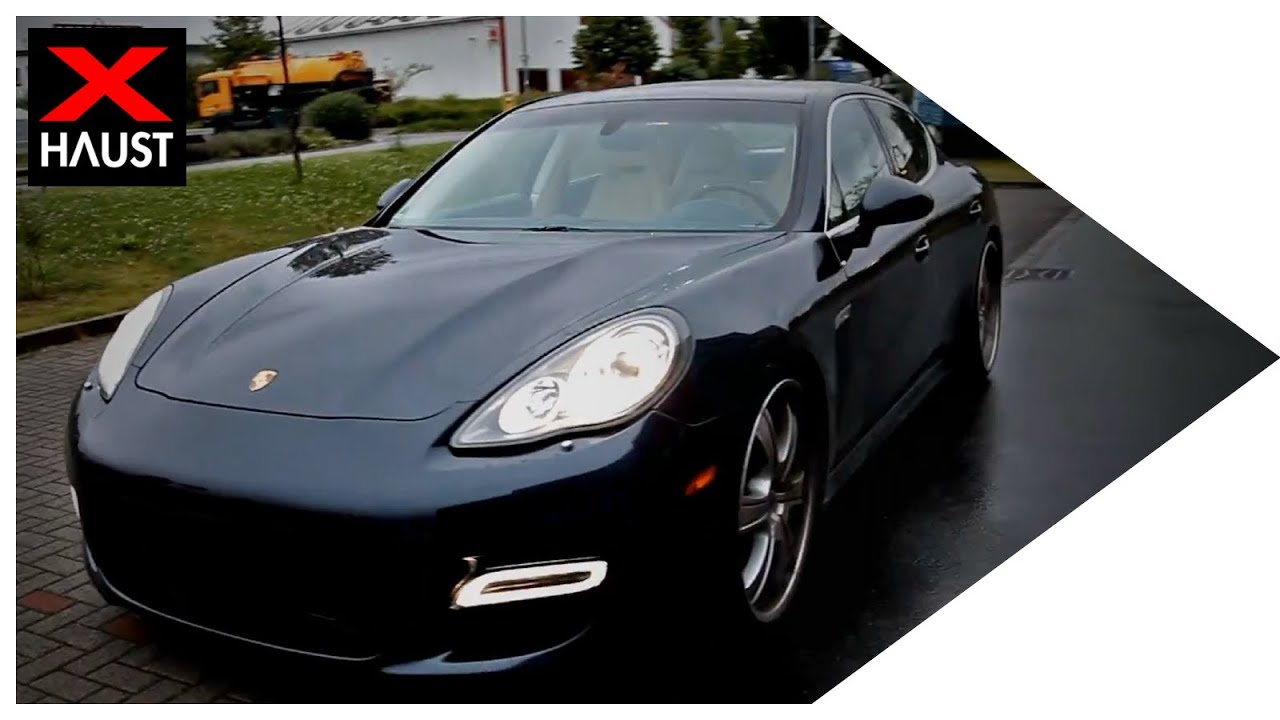Porsche Panamera Turbo Exhaust Sound Amp Fly By Sport