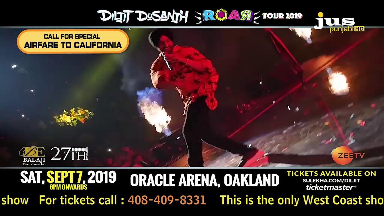 Diljit Dosanjh Live In Concert - Bay Area (