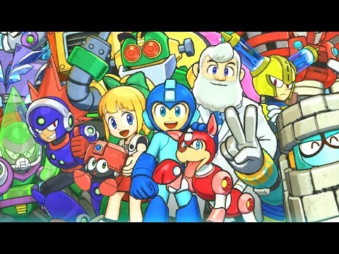 Mega Man 11 - Full Game Walkthrough