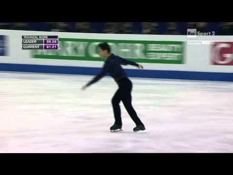 2015 Figure Skating World Champs Shanghai - men - FP - Denis TEN