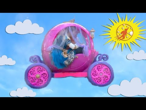 Little Princesses Super Episode from New Sky Kids - The Pink Princess Carriage and The Twins