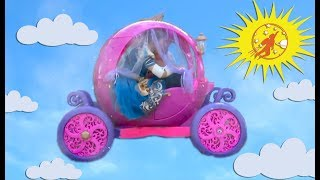 New Sky Kids Super Episode - The Flying Pink Princess Carriage, Granny and The Twins
