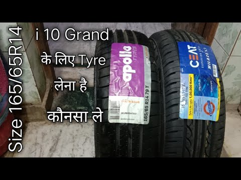 Best tyres for Grand i 10 under 3500 size 165/65 R14