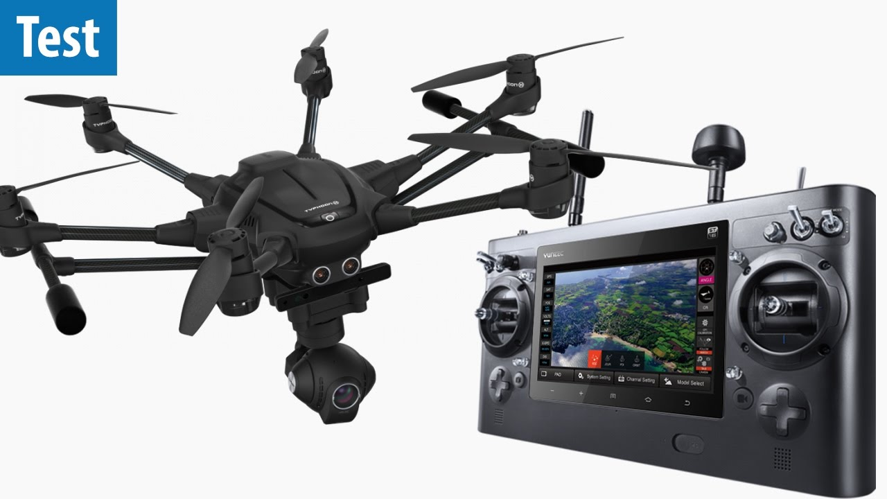 Typhoon H Pro >> Video-Drohne für Profis - Yuneec Typhoon H Pro RealSense ...
