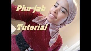 Download Video Fake Hijab   phojab w/ collar head cover style MP3 3GP MP4