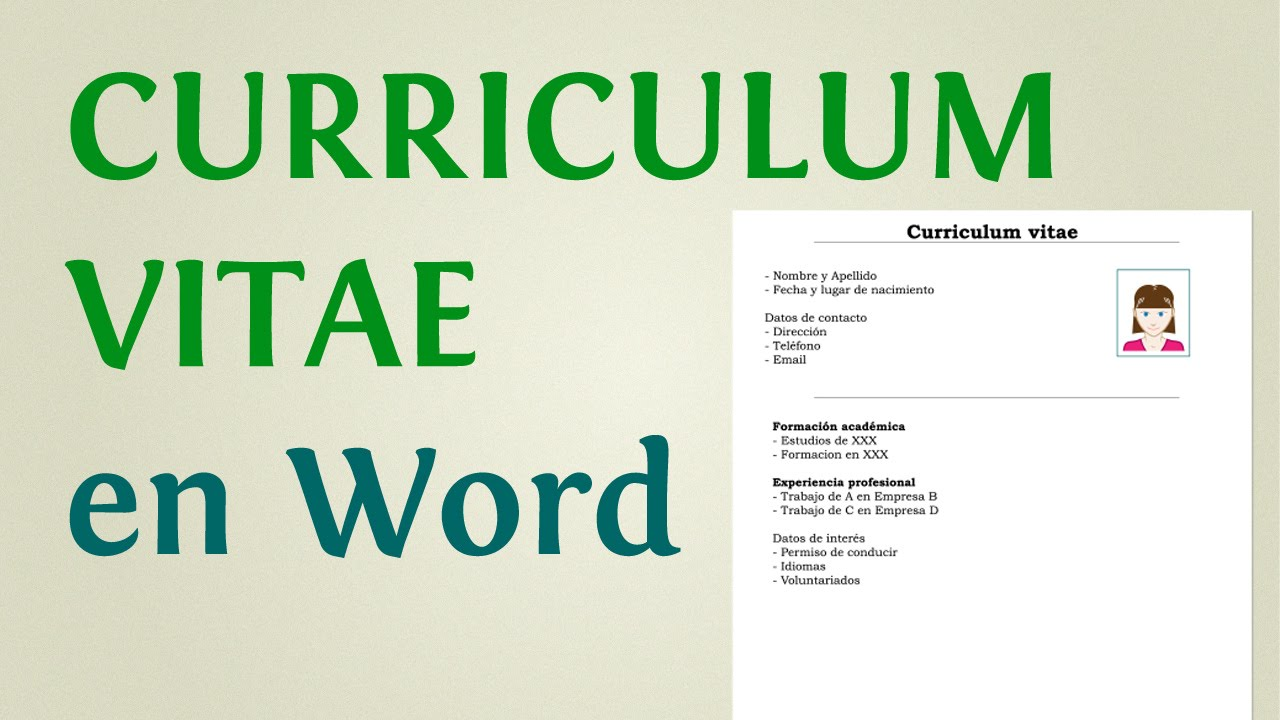 como hacer un curriculum vitae 2015 en word  website that writes research papers for you