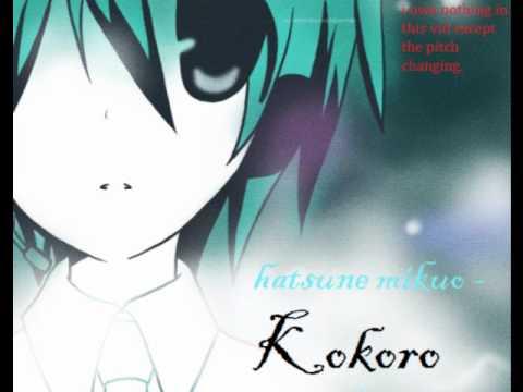 Hatsune Mikuo - Kokoro (oringinal Vers.)