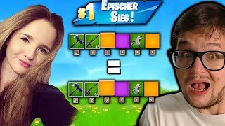 1500 vBUCKS for YOU 🎁 Same Items Challenge with Elschix | Fortnite German