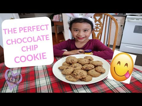 HOW TO MAKE THE PERFECT CHOCOLATE CHIP COOKIE || ADDIE BAKING CHEWEY CHOCOLATE CHIP COOKIES