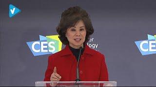 #CES2020 News: CES 2020: U.S. Department of Transportation Keynote